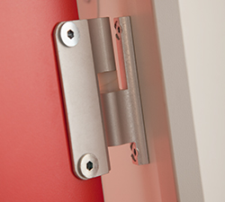 Cubicle safety hinge Malvern