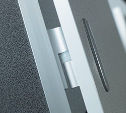 Full height cubicle door hinge - pendle