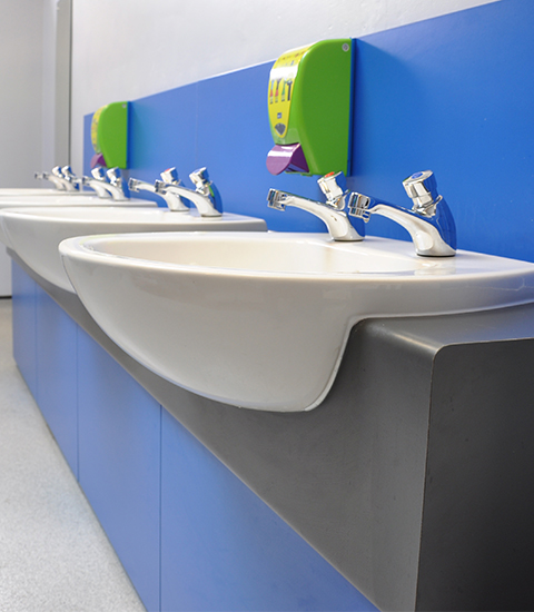 Vanity units panel systems bench seating cubicle centre - Made to measure bench seating ...