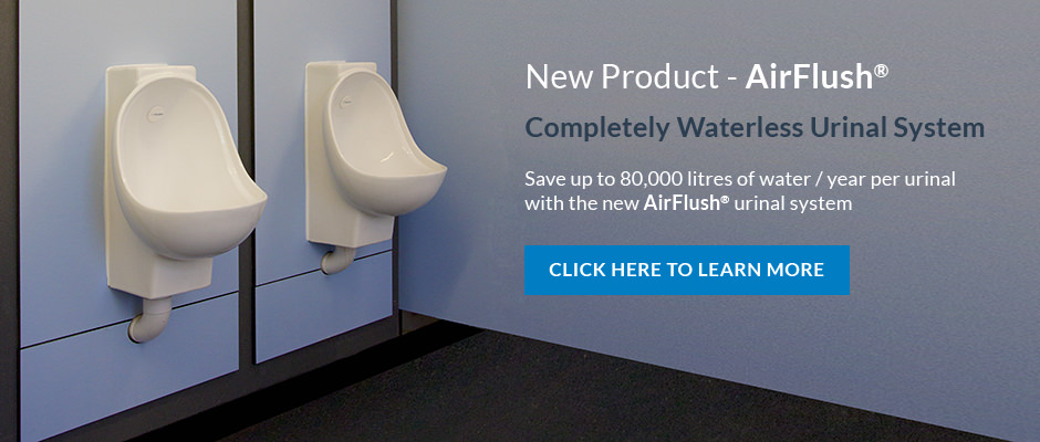 AirFlush Waterless Urinal System