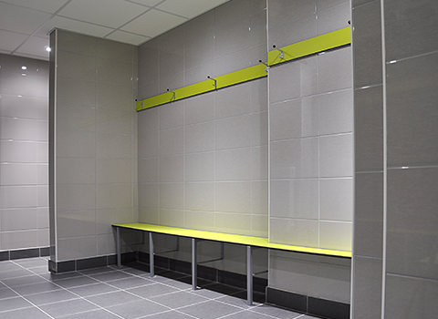 Squash Club Men's Changing Room