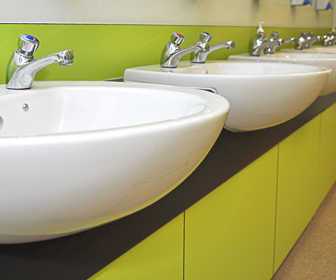 Washroom Splashback