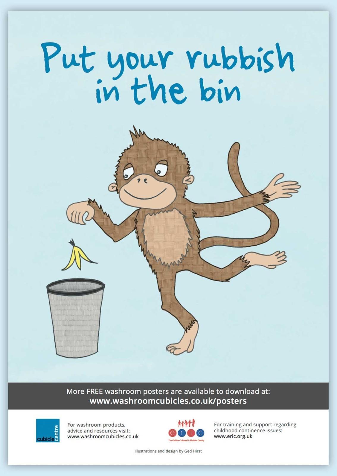 Poster-Rubbish-Bin