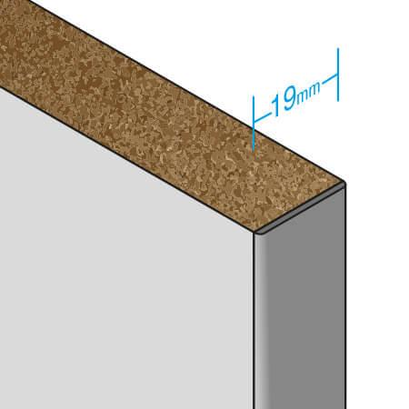 HPL panel material