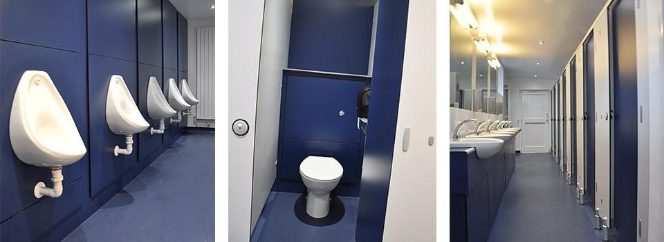 Portmeirion village washroom facilities