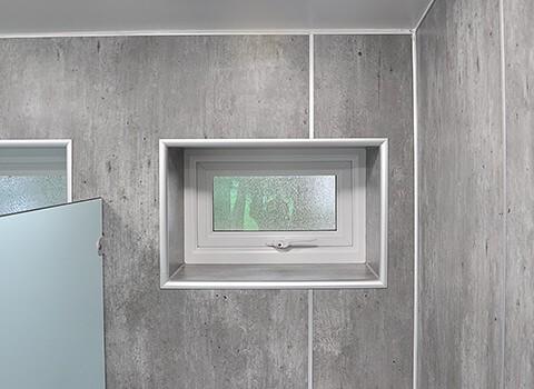 Trevi Panel Washroom