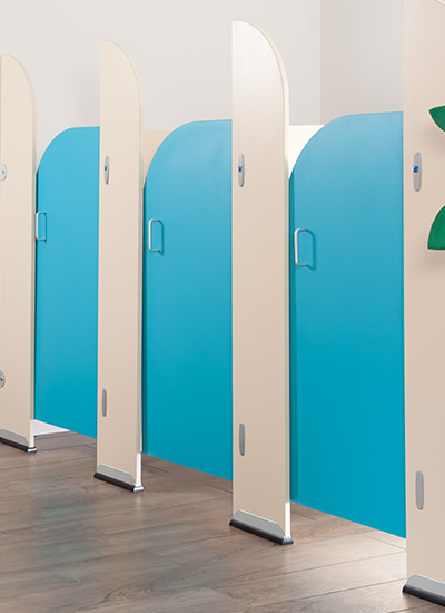 Toilet Cubicles for School Washrooms