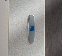 Cubicle hinge face plate Malvern Plus