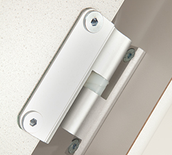 Cubicle safety hinge Grampian