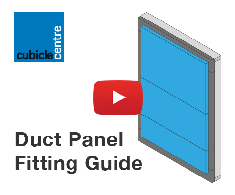 How to fit a duct panel video