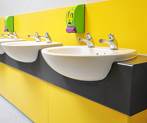 Vanity Units Inset And Semi Recessed Cubicle Centre