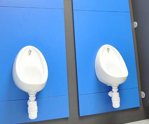 wall panels for urinals