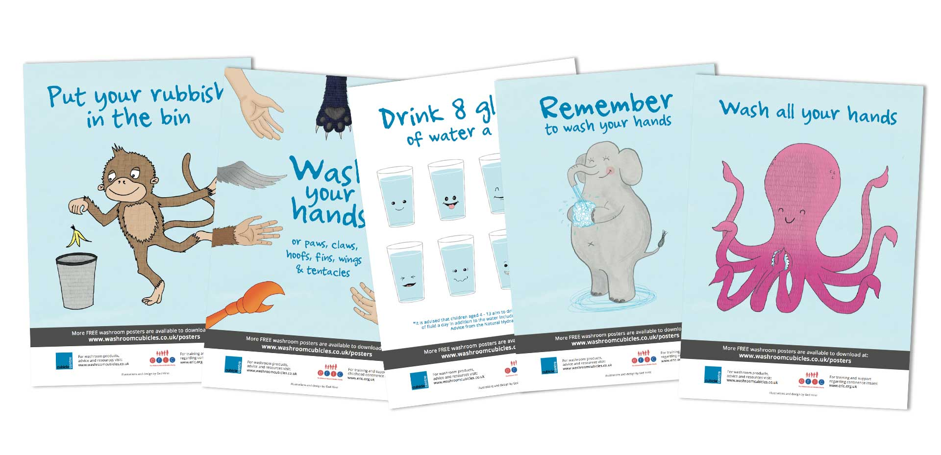 Posters for your school washroom