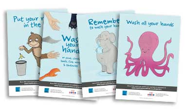 School washroom posters